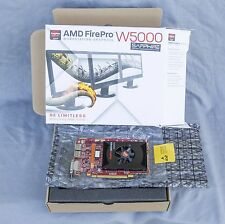 GENUINE AMD FirePro W5000 2GB GDDR5 PCIe x16 2x DP/1 x DVI Video Card