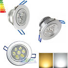 LED Recessed Ceiling Downlight Spot Fixture Lamp Light W/ Driver 3/7/9/12/15/18W