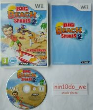 Big Beach Sports 2(Wii)+U-8 Games!=Rugby+Cricket+Surfing+Dune Buggy Two=GC✔FAST✔