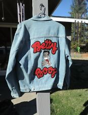 Betty Boop Blue Denim Jean Jacket~1996~AMERICAN COMIX.