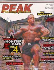PEAK Training Journal bodybuilding magazine/Dave Palumbo Fall 1998 Issue #5
