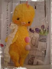 Mohair/Viscose Easter Chick Pattern 9.5 inch