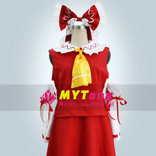 Touhou Project Immaterial and Missing Power Reimu Hakurei Cosplay Costume Lolita