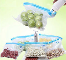 Saver Food Storage Vacuum 25pcs Bags Tool Free Kitchen Absorbers Pump