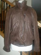 Carizia High Quality Leather Mens Jacket Coat Bomber made USA sz M