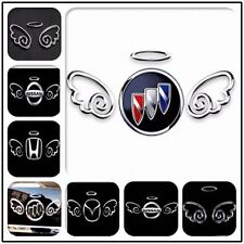 27# 3D CUTE ANGEL WINGS Car Badge Body Decal Graphics Sticker