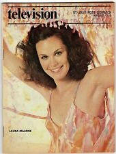 LAURA MALONE 1979 St Louis Post Dispatch TV Guide Bad Girl Blaine ANOTHER WORLD