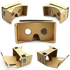 Cardboard Virtual Reality 3D Glasses VR For Google Android iPhone Samsung DIY FW