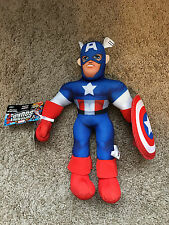 "Marvel 14"" CAPTAIN AMERICA JUMBO PLUSH - SUPER HERO SQUAD"