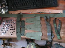 FIX YOUR M1 HELMET-LINERS+RIVETS+LEATHER SWEATBAND+STUN & COVER BAND+CHIN STRAP