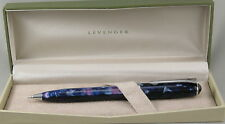 Levenger True Writer Starry Night Blue & Chrome .7mm Pencil - New In Box