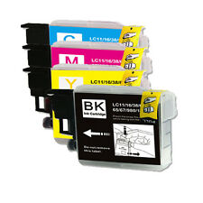 4 Pk New Ink Jet Bundle Set for Brother LC61 MFC J270W J410W J415W J615W J630W