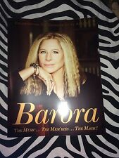 Barbra Streisand 2016 Tour Book The Music The Mem'ries The Magic