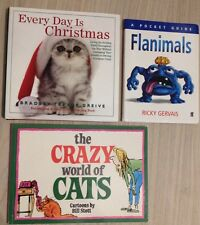 Everyday is Christmas Ricky Gervais Crazy World Of Cats Flanimals Book Animal