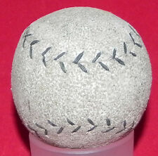 Antique Circa 1890's - Early 1900's Gray Leather Figure Eight Style Baseball Old