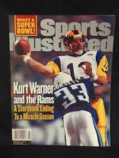 KURT WARNER 2/7/2000 RAMS Sports Illustrated NO LABEL MINT