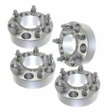 4 pcs 38mm 5x114.3 Wheel Spacers Adapters 12x1.25 Studs Fits Nissan and Infiniti