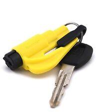 NEW Kroll Yellow RESQME Keychain Window Breaker Rescue Tool