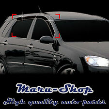 Smoke Door Window Vent Visor Deflector for 05-09 Kia Spectra5 5DR