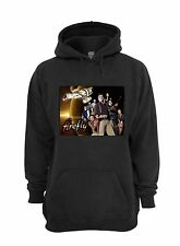 L@@K!  Firefly Hoodie - Serenity - Browncoats - Black - Size 2XL