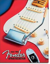 Fender Stratocaster since 1954 metal wall sign  (de) FAST DISPATCH FROM UK+++