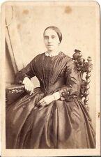 CDV photo Feine Dame - Österreich 1870er