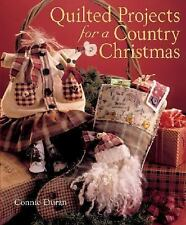 Quilted Projects for a Country Christmas-ExLibrary