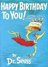 Classic Seuss: Happy Birthday to You! by Dr. Seuss (1959, Hardcover)