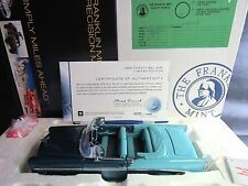 RARE Franklin Mint Precision 1/24 1956 CHEVY BEL AIR Car the #1 of 1500 NIB