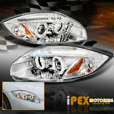 2006-2011 Mitsubishi Eclipse GT GS SPYDER LED Halo Projector Chrome Headlights