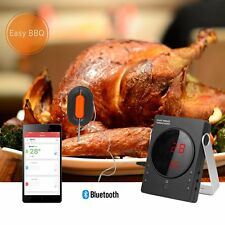 Smart Wireless Bluetooth Barbecue Thermometer Kitchen Device Set 6 Probe for BBQ