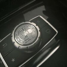 Mercedes Benz AMG Multimedia Button Decorative High Quality3D Metal Emblem/Badge