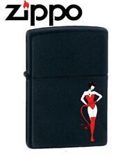 Accendino Zippo Devil woman su base nera *00549