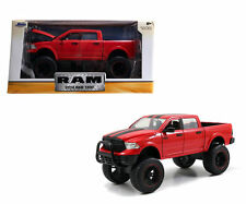 "JADA 2014 DODGE RAM 1500 PICKUP RED OFF ROAD ""JUST TRUCKS"" 1:24 CAR 97474"