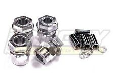 HPI Savage 25 & X 17mm Aluminum Hex Wheel Hubs +6mm Offset by Integy