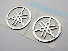 Motorcycle 5cm Fuel Gas Tank Badge Fairing Emblem 3D Decal Sticker For Yamaha