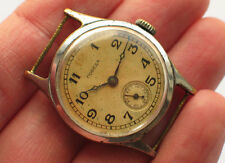 Early soviet POBEDA RED 12 watch 1st Moscow Factory USSR 1Q-1951 *Serviced*