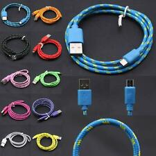 0.25-3M Data Sync Fast Charging Charger Cable Micro USB Cord For Samsung Android
