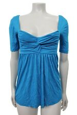 Kimchi Blue Urban outfitters Blue Twist Bust Blouse Size S