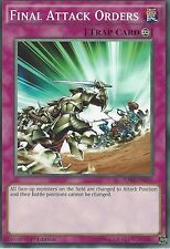 YU-GI-OH CARD: FINAL ATTACK ORDERS - SDKS-EN036 - 1st EDITION