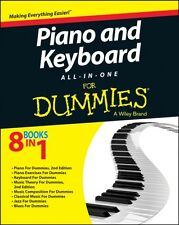 Piano and Keyboard All-in-one For Dummies (Paperback), Consumer Dummies, 978111.