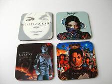 Michael Jackson Album Abdeckung Getränke UNTERSETZER Set #3