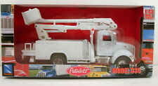 "NewRay Peterbilt Model 335 Maintenance utility truck 1:43 scale 8"" diecast  N142"