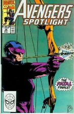 Avengers Spotlight # 36 (Hawkeye) (USA,1990)