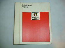 VGC Detroit Diesel Inline In-Line Series 71 Service Shop Repair Manual Oct 1983