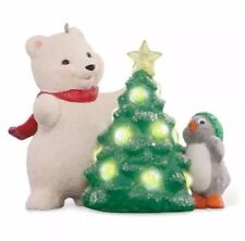 Snowball and Tuxedo 2015 Hallmark 15th Anniversary Christmas Tree Ornament