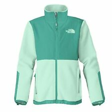 North Face Denali Kids AQGG-H9Z Beach Glass Green Girls Fleece Jacket Size L