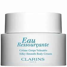 NEW Clarins Eau Ressourcante Silky-Smooth Body Cream 200ml FREE P&P