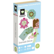 *New* DAMASK DECOR Elegant Floral Card Cricut Cartridge Factory Sealed Free Ship