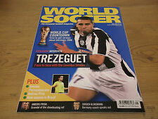 Football Magazine World Soccer May 2005 Trezeguet World Cup Countdown Klinsmann